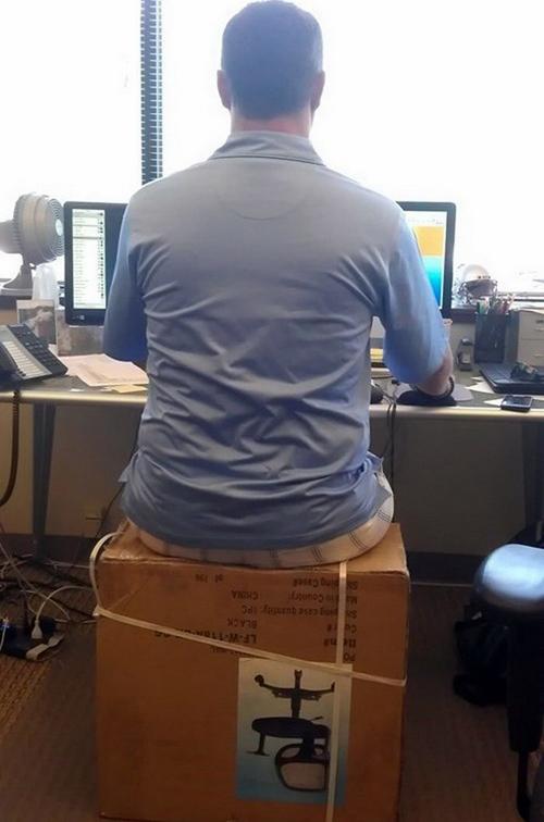 Nhà sản xuất ghế không thích điều này.