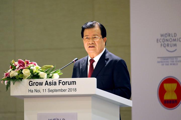 Phó thủ tướng Trịnh Đình Dũng. Ảnh: VGP