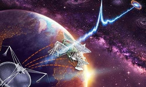 Chớp sóng vô tuyến là một trong những hiện tượng bí ẩn nhất vũ trụ. Ảnh: Smithsonian Magazine.