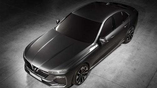 Thiết kế mẫu sedan đầu tiên của VinFast.