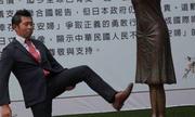 Người đàn ông Nhật gây phẫn nộ vì đá tượng nô lệ tình dục ở Đài Loan