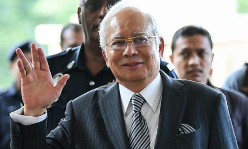 Cựu thủ tướng Malaysia Najib Razak. Ảnh: AFP.