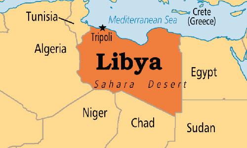 Niger và Libya là hai quốc gia có chung biên giới ở khu vực Bắc Phi. Đồ họa: PTN.