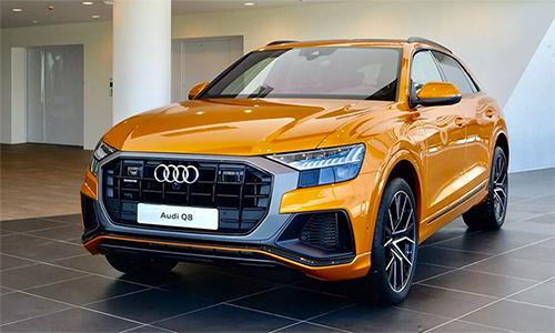 Mẫu SUV hạng sang Audi Q8 ra mắt tại Thái Lan hôm 10/9.