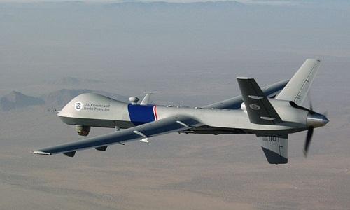 Máy bay không người lái MQ-9 Reaper của không quân Mỹ. Ảnh: Wikipedia.