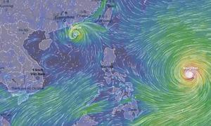 Tiếp tục có siêu bão đang hướng vào biển Đông