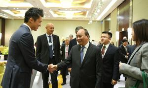 Thủ tướng đối thoại với 20 tập đoàn toàn cầu