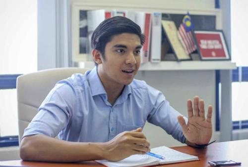 Syed Saddiq trong một cuộc phỏng vấn hồi tháng 4 ở Malaysia. Ảnh: Malay Mail.