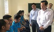 Bộ trưởng Lao động thị sát cơ sở cai nghiện tại Hà Nội