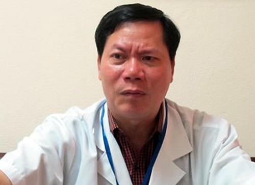 Nguyên giám đốc bệnh viện Trương Quý Dương. Ảnh: Nam Phương.