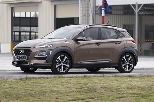Hyundai Kona là một trong những dòng xe mới bán tại Việt Nam.