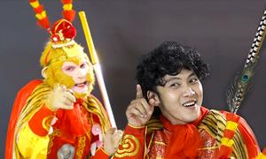 Chàng trai Sài Gòn chuyên hóa thân thành Tôn Ngộ Không