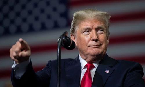 Tổng thống Mỹ Donald Trump phát biểu tại một sự kiện ở Florida hôm 31/7. Ảnh: AFP.