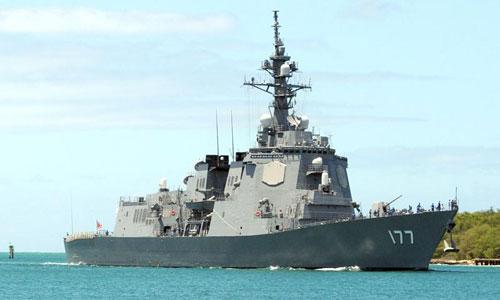 Tàu khu trục lớp Atago trang bị hệ thống Aegis tối tân của Nhật. Ảnh: Wikipedia.