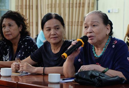 PGS Nguyễn Tuyết Minh đề xuất bỏ dạy đánh vần tiếng Việt cho học sinh. Ảnh: Quỳnh Trang.