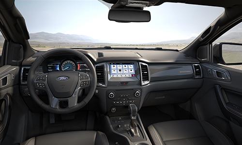 Nội thất Ford Ranger Wildtrak 2.0. Ảnh: Ford.