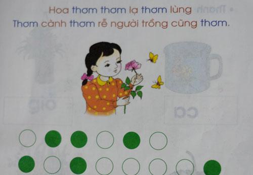 Việc dùng các hình khối biểu thị cho âm tiết tiếng Việt theo GS Nguyễn Văn Lợi là không cần thiết vì âm tiết tiếng Việt rất dễ nhận biết. Ảnh: Quỳnh Trang.
