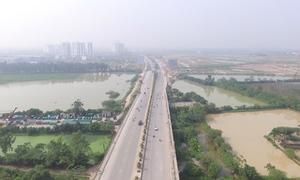 Đường 5.000 tỷ sắp đưa vào vận hành ở Hà Nội