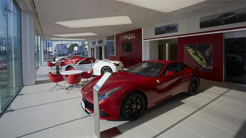 Số xe ngập nước là 51 trong tổng số 53 chiếc Ferrari cả mới lẫn cũ tại Auto Cavallino. Ảnh: Ferrari.