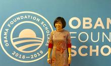 'Anh hùng khí hậu' người Việt nhận học bổng danh giá Quỹ Obama