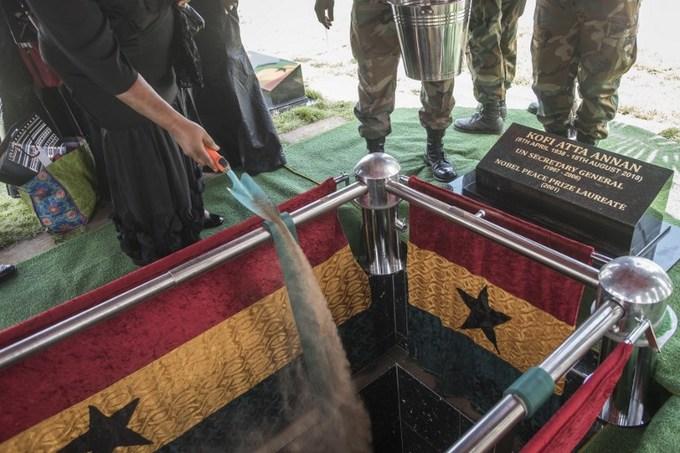 Đám tang cố tổng thư ký LHQ Kofi Annan tại quê nhà