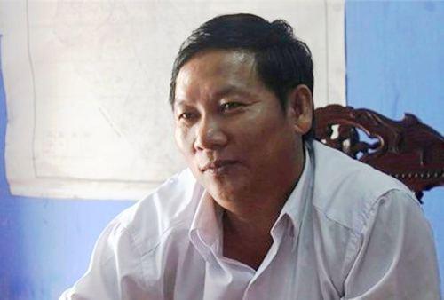 Ông Hồ Hữu Phúc, Phó phòng Lao động, Thương binh và Xã hội huyện. Ảnh: T.H
