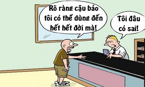 Nhân viên bán hàng kiêm bác sĩ