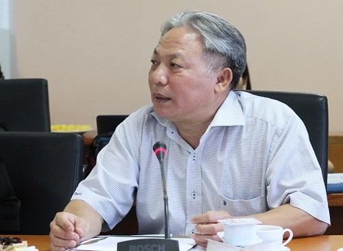 Ông Phan Xuân Thành, Phó Giám đốc kiêm Tổng biên tập Nhà xuất bản Giáo dục. Ảnh: Thùy Linh