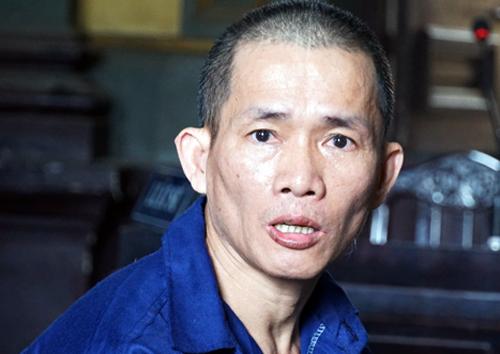 Nguyễn Thọ tại tòa hôm nay. Ảnh: Kỳ Hoa.