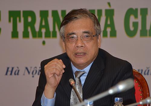 TS Trần Đình Thiên. Ảnh: Đoàn Loan