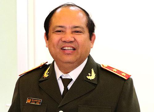 Trung tướng Bùi Xuân Sơn.