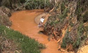 Hàng trăm hộ dân khổ sở vì nước thải từ chợ nông sản Đà Lạt