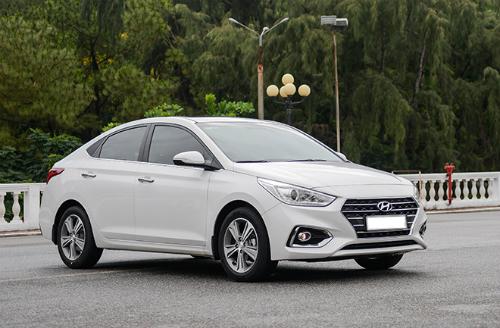 Hyundai Accent mới ra mắt tại Việt Nam hồi tháng 4.