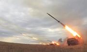 Pháo binh, cường kích Nga diệt mục tiêu trong tập trận Vostok-2018