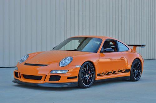 Dòng xe thể thao Porsche GT3 RS. Ảnh: Porsche.