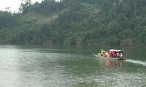Đầm nước ngập sau lũ thành 'Vịnh Hạ Long' Mộc Châu