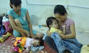 Khu trọ bệnh nhân hiểm nghèo gần Viện Nhi bị thiêu rụi