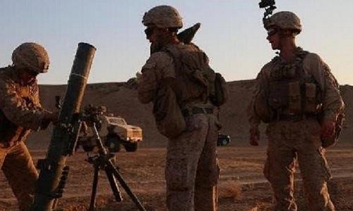 Bức ảnh do đặc nhiệm Mỹ ở Syri đăng tải ngày 12/9 có sự xuất hiện của một xe thiết giáp Pháp. Ảnh: RT.