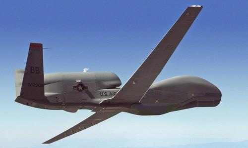 Máy bay trinh sátkhông người lái tầm xa RQ-4 của Mỹ. Ảnh: USAF.