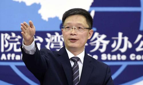 An Phong Sơn, phát ngôn viên Văn phòng các vấn đề Đài Loan của Trung Quốc. Ảnh: Xinhua.