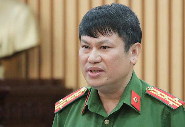 Ông Nguyễn Văn Viện tại buổi họp báo chiều 17/9.
