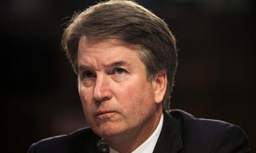 Brett Kavanaugh trong phiên điều trần trước Ủy ban Tư pháp Thượng viện ngày 6/9. Ảnh: Reuters.