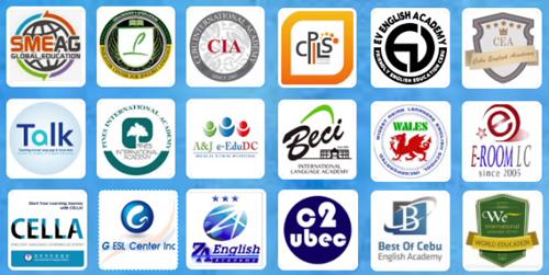 Danh sách các trường tham dự hội thảo học bổng du học tiếng Anh Philippines.