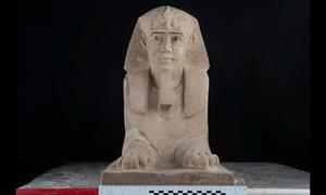 Phát hiện tượng nhân sư 2.000 năm tuổi ở Ai Cập