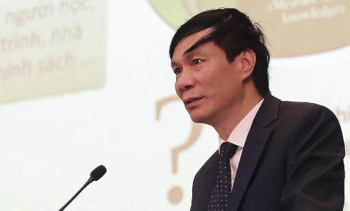 GS Nguyễn Quý Thanh. Ảnh: VNU