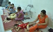 Nhà trọ cháy rụi, gia đình các bệnh nhi sống tạm bợ