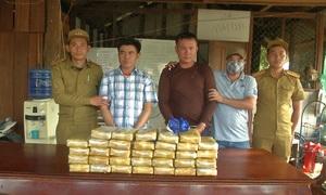 Biên phòng Quảng Trị bắt 200.000 viên ma tuý trên đất Lào