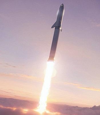 Mặt bên của hệ thống phóng tên lửa BFR. Ảnh: Twitter.