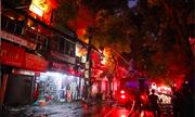 Vụ cháy tại Hà Nội thiêu rụi 19 căn nhà