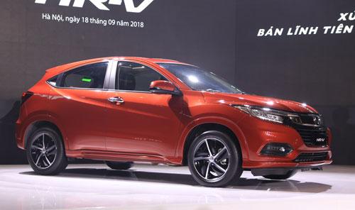 Honda HR-V ra mắt chiều 18/9 tại Hà Nội. Ảnh: Đức Huy.